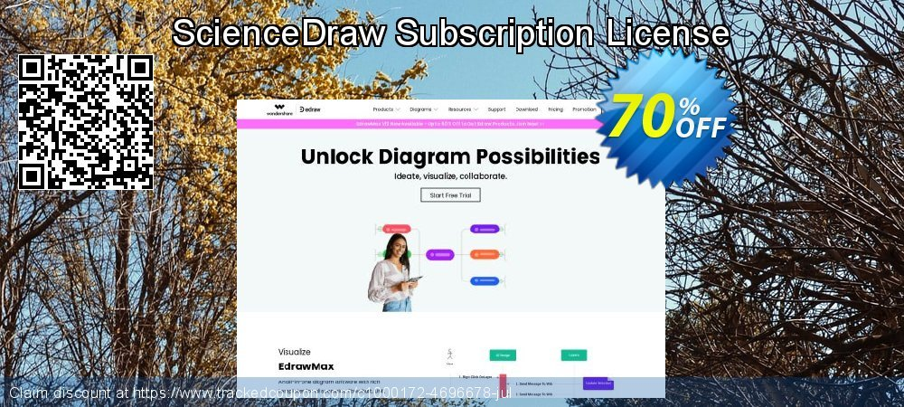 ScienceDraw Subscription License coupon on College Student deals deals
