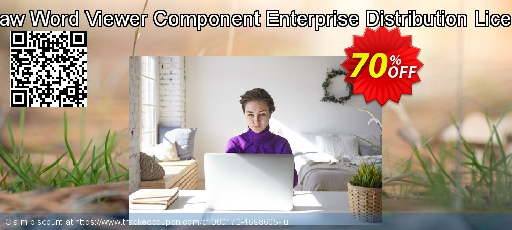 Edraw Word Viewer Component Enterprise Distribution License coupon on Back to School shopping offer