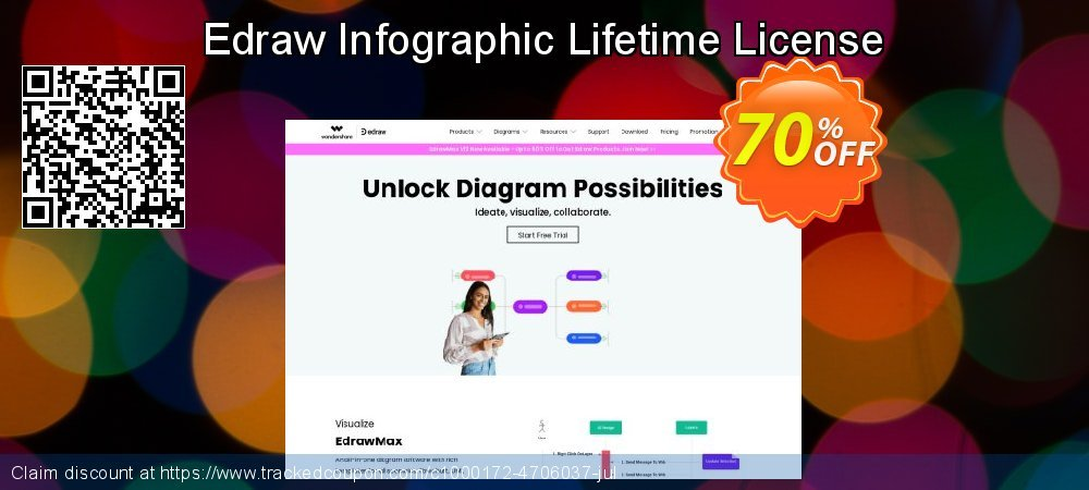Edraw Infographic Lifetime License coupon on Back to School season sales