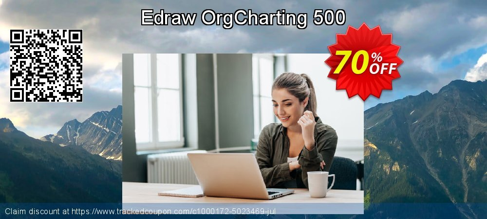 Edraw OrgCharting 500 coupon on College Student deals offer