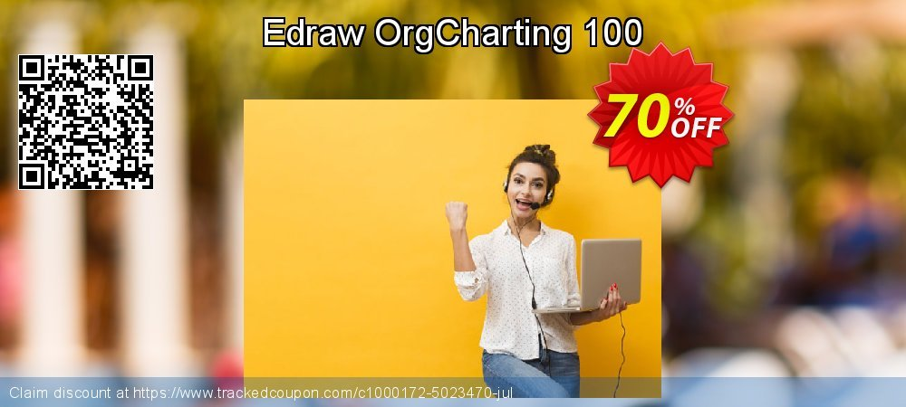 Edraw OrgCharting 100 coupon on Back to School promotion discount