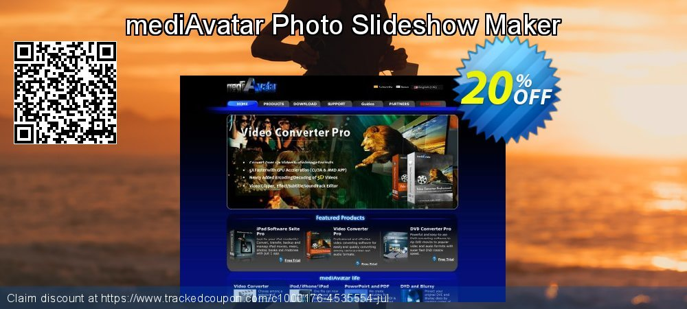 mediAvatar Photo Slideshow Maker coupon on Thanksgiving deals
