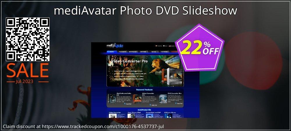 mediAvatar Photo DVD Slideshow coupon on Black Friday super sale
