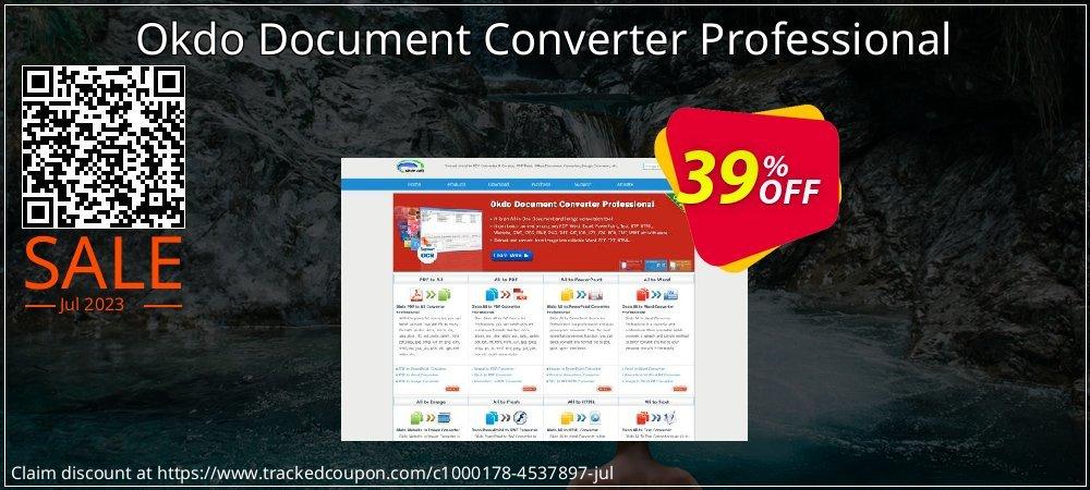 Get 39% OFF Okdo Document Converter Professional offering sales