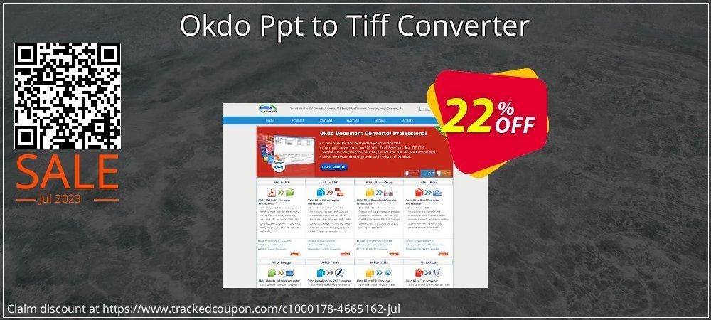 Get 20% OFF Okdo Ppt to Tiff Converter promo
