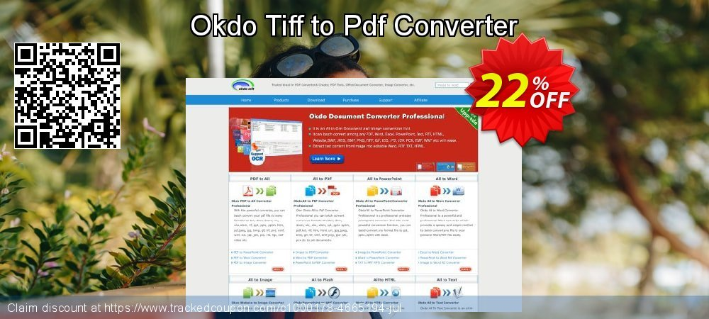 Get 20% OFF Okdo Tiff to Pdf Converter discounts