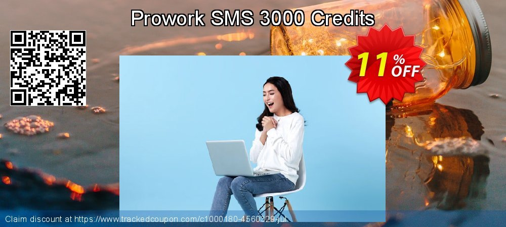 Prowork SMS 3000 Credits coupon on Mothers Day super sale