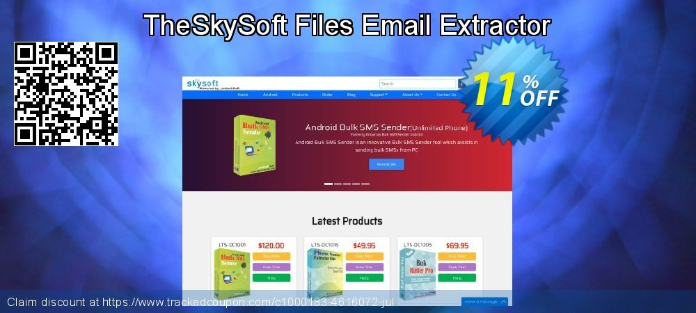 TheSkySoft Files Email Extractor coupon on Mom Day super sale