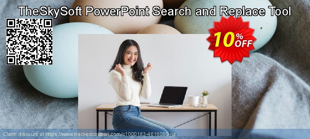 TheSkySoft PowerPoint Search and Replace Tool coupon on Mom Day offering sales