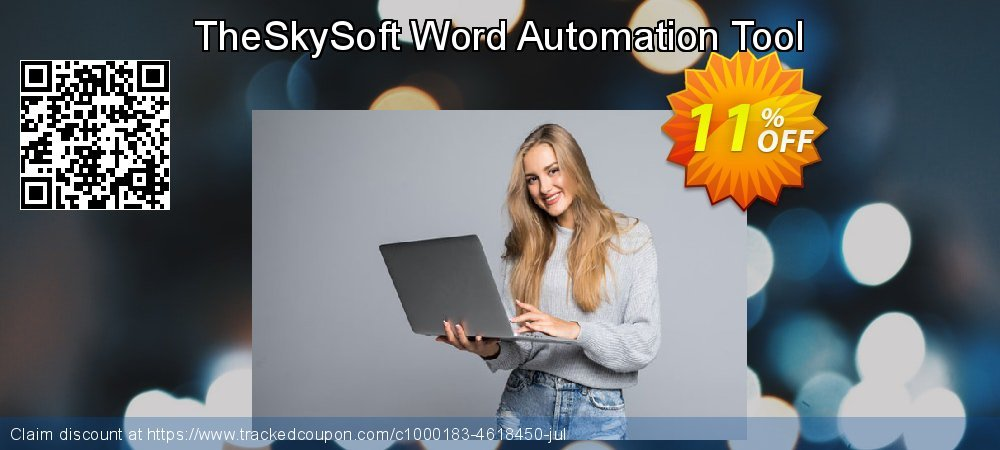 TheSkySoft Word Automation Tool coupon on Mom Day promotions