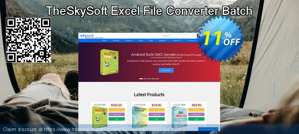 TheSkySoft Excel File Converter Batch coupon on Mothers Day super sale