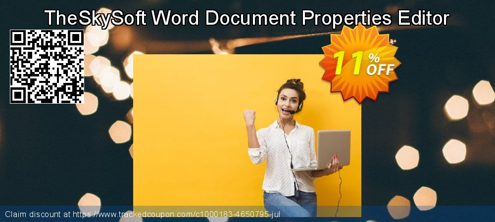 TheSkySoft Word Document Properties Editor coupon on Mothers Day discounts