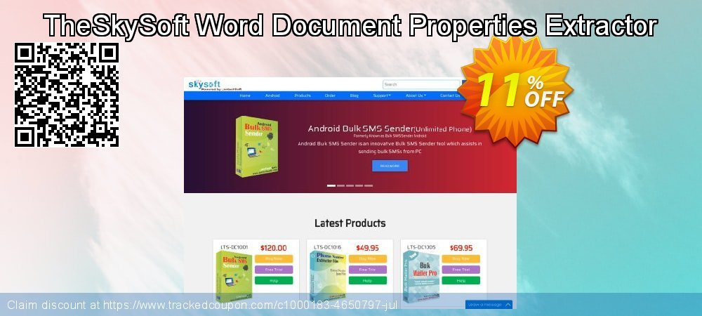 TheSkySoft Word Document Properties Extractor coupon on Mothers Day sales