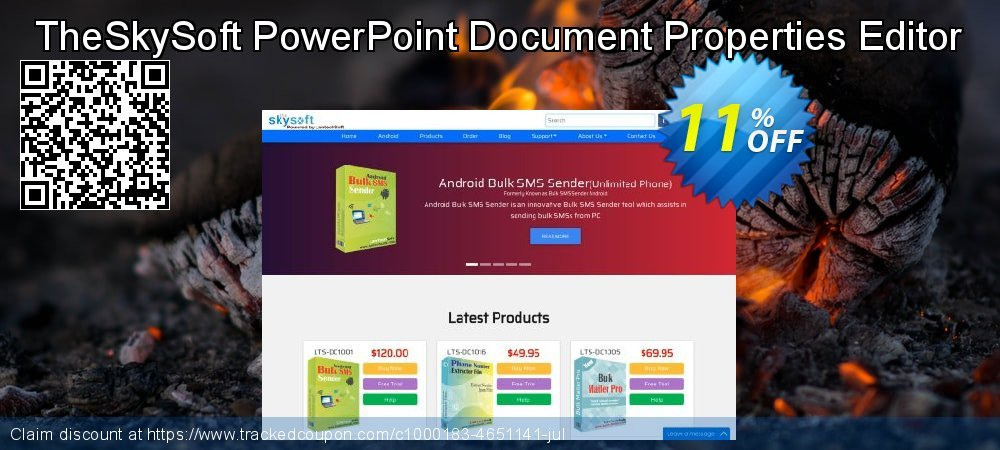 TheSkySoft PowerPoint Document Properties Editor coupon on Mothers Day offer
