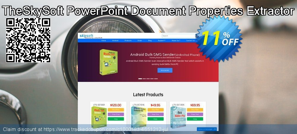 TheSkySoft PowerPoint Document Properties Extractor coupon on Mom Day deals