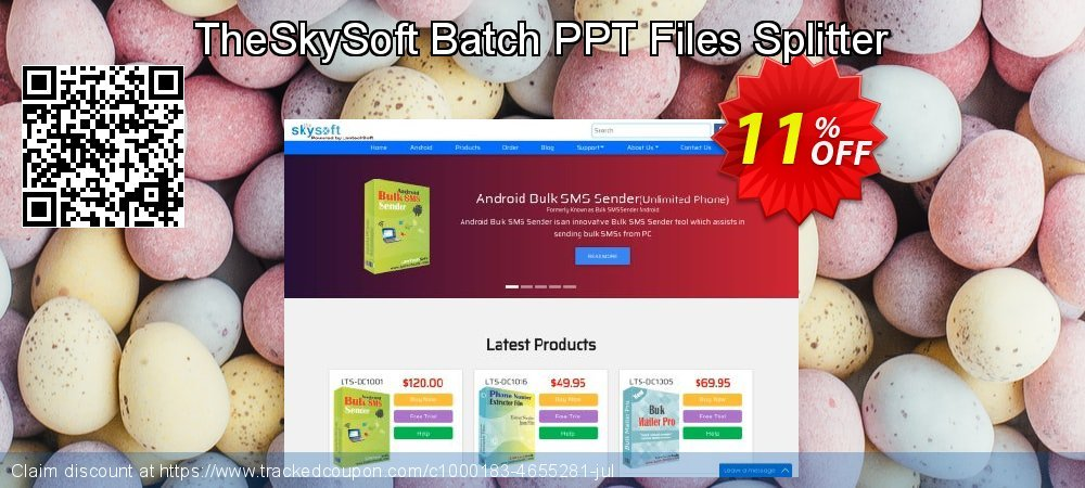 TheSkySoft Batch PPT Files Splitter coupon on Mothers Day offer