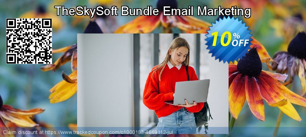 TheSkySoft Bundle Email Marketing coupon on Mom Day sales