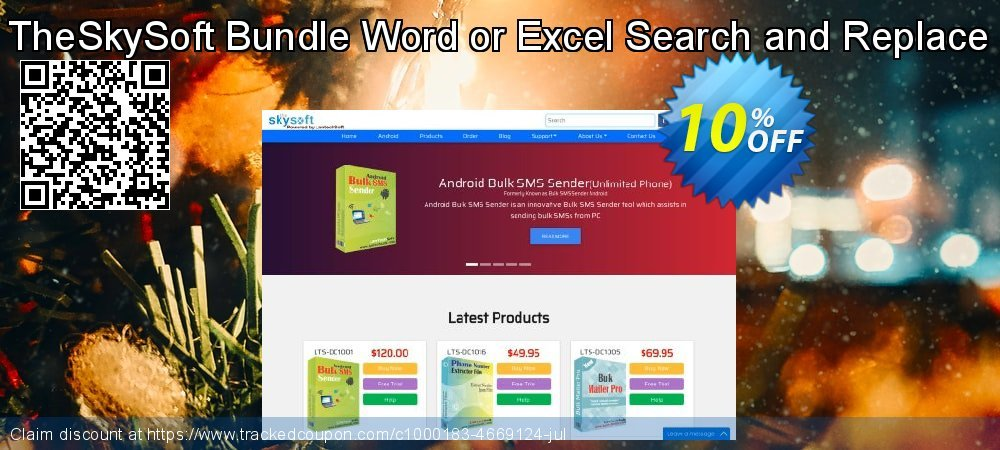 TheSkySoft Bundle Word or Excel Search and Replace coupon on World Milk Day offering discount