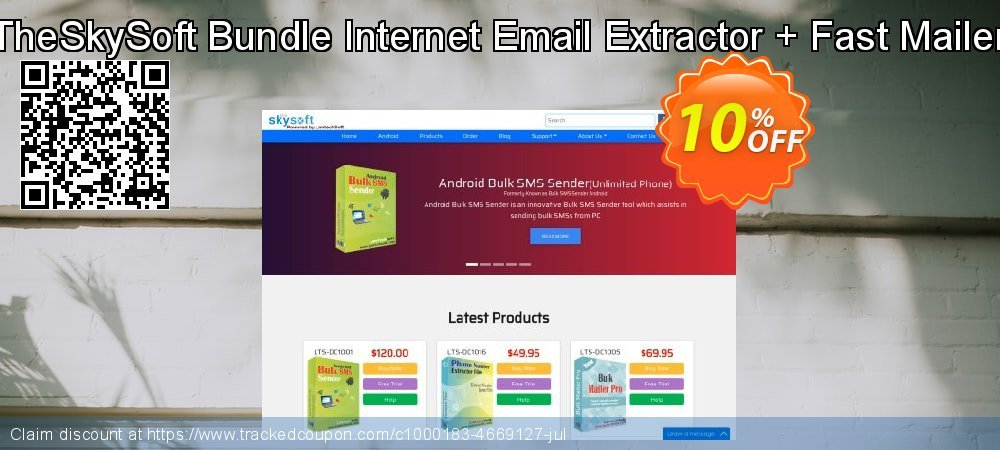 TheSkySoft Bundle Internet Email Extractor + Fast Mailer coupon on Mothers Day super sale