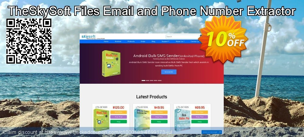 TheSkySoft Files Email and Phone Number Extractor coupon on Mothers Day deals