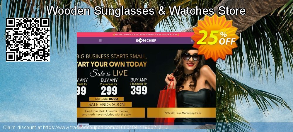 Get 24% OFF Wooden Sunglasses & Watches Store promo