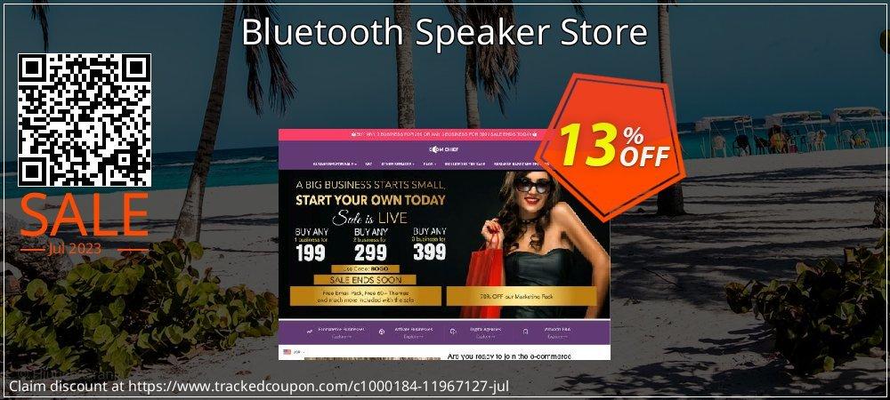 Get 28% OFF Bluetooth Speaker Store offering sales