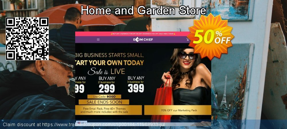 Get 28% OFF Home and Garden Store offering sales
