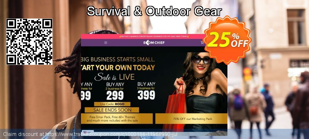 Get 24% OFF Survival & Outdoor Gear offering sales
