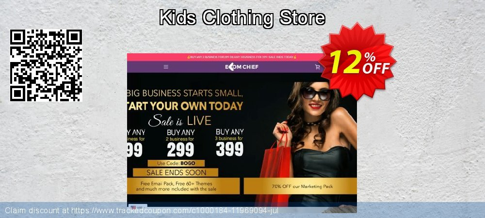 Get 24% OFF Kids Clothing Store sales