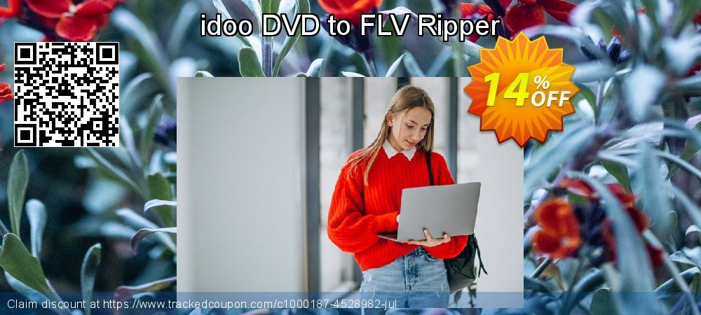 Get 10% OFF idoo DVD to FLV Ripper offer