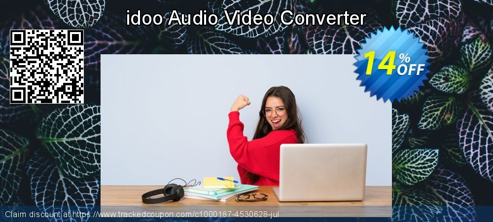 Get 10% OFF idoo Audio Video Converter offering sales