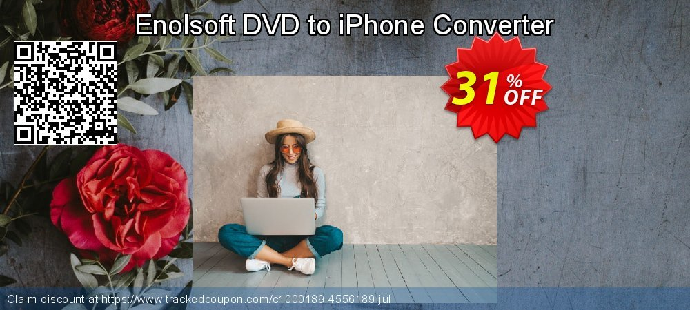 Enolsoft DVD to iPhone Converter coupon on Mothers Day super sale