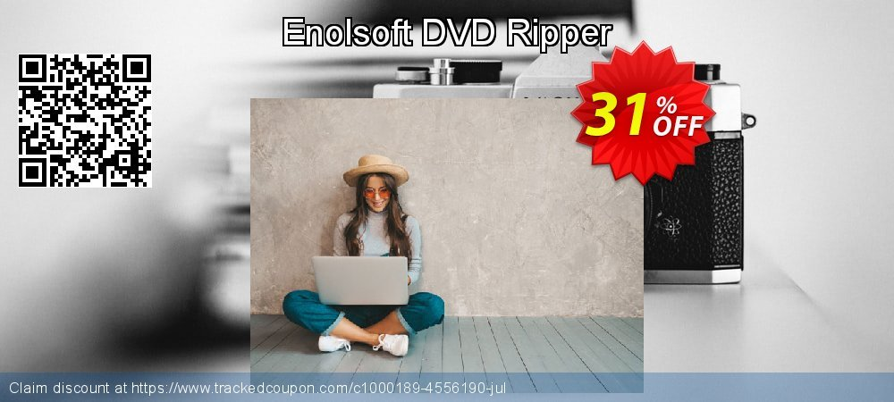 Enolsoft DVD Ripper coupon on Mom Day discounts