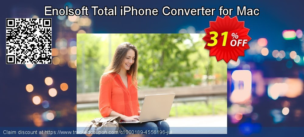Enolsoft Total iPhone Converter for Mac coupon on Mom Day offering discount