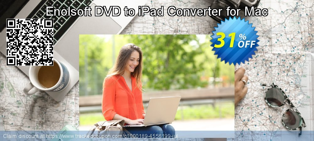 Enolsoft DVD to iPad Converter for Mac coupon on Mothers Day discounts