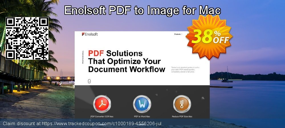 Enolsoft PDF to Image for Mac coupon on Mom Day offering sales