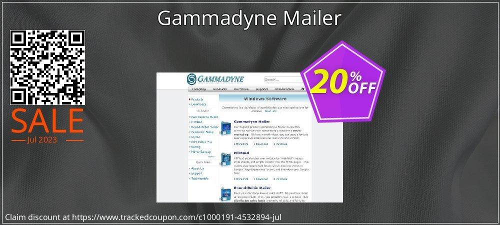 Get 20% OFF Gammadyne Mailer offering deals