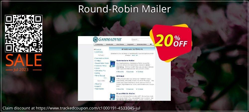 Get 20% OFF Round-Robin Mailer discount
