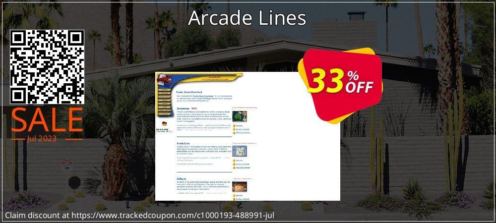 Get 31% OFF Arcade Lines offering sales