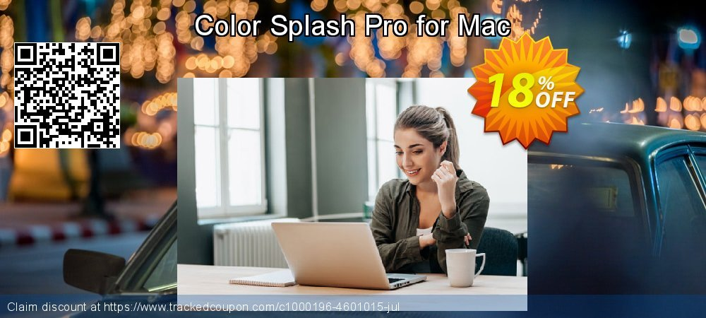 Get 10% OFF Color Splash Pro for Mac offering discount