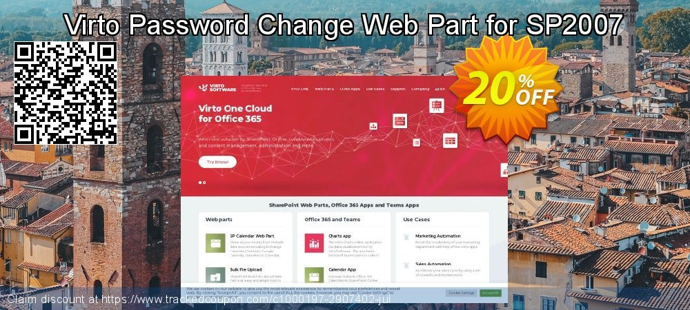 Virto Password Change Web Part for SP2007 coupon on Easter promotions