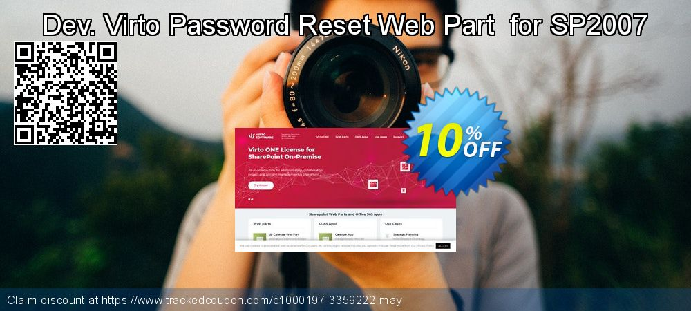 Get 10% OFF Dev. Virto Password Reset Web Part for SP2007 offering sales