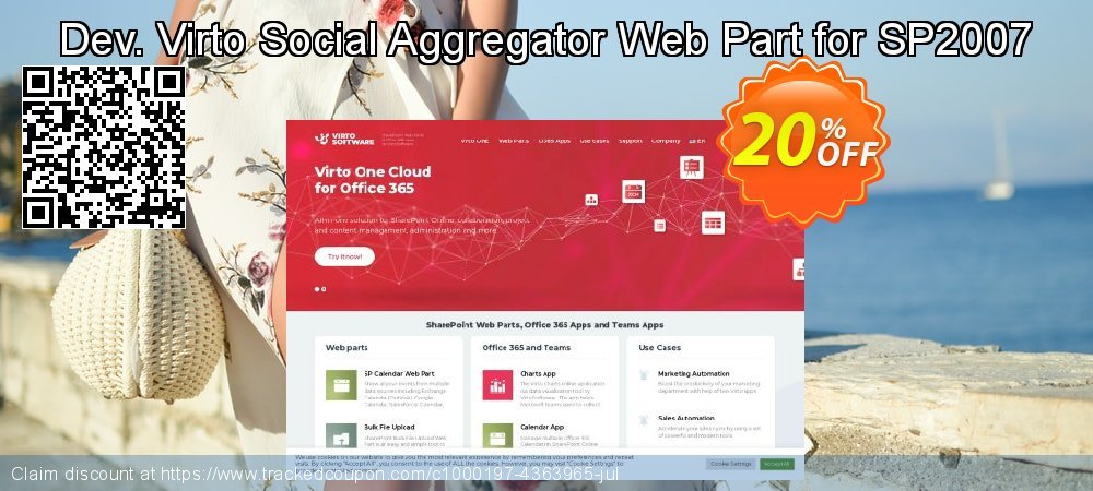 Dev. Virto Social Aggregator Web Part for SP2007 coupon on New Year's Day promotions
