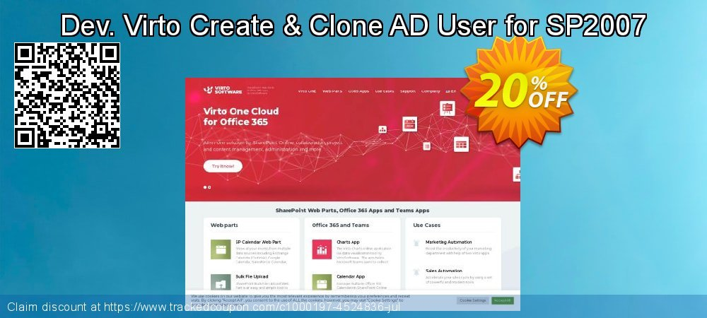 Dev. Virto Create & Clone AD User for SP2007 coupon on New Year offering discount
