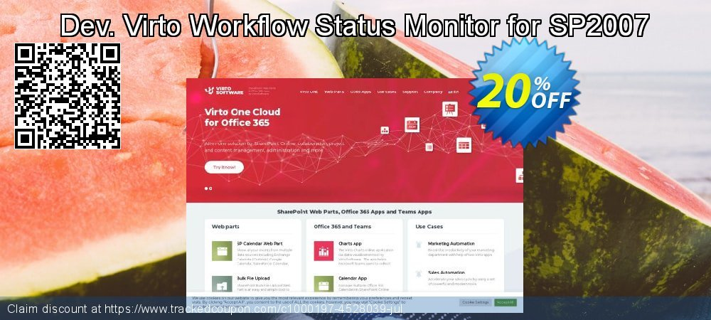 Dev. Virto Workflow Status Monitor for SP2007 coupon on Lunar New Year discount