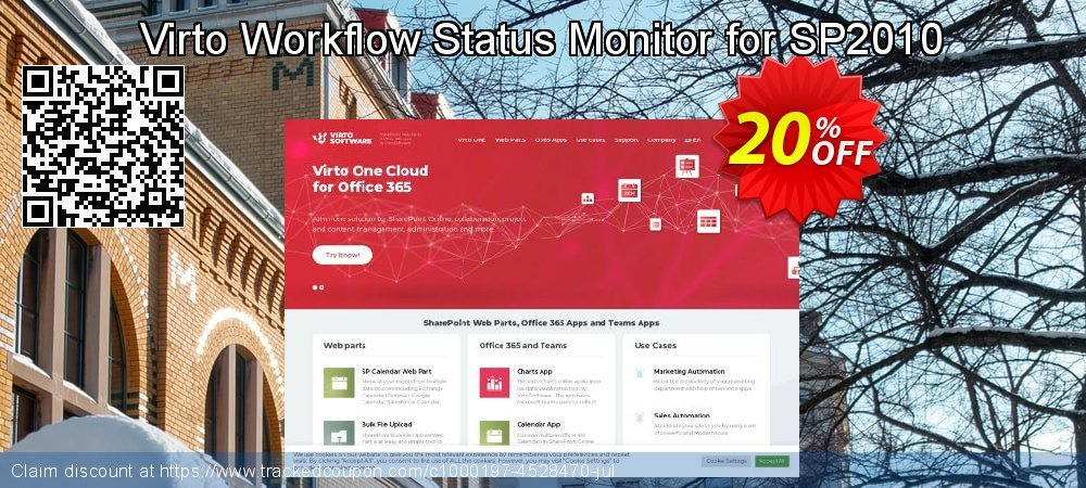 Get 10% OFF Virto Workflow Status Monitor for SP2010 offer