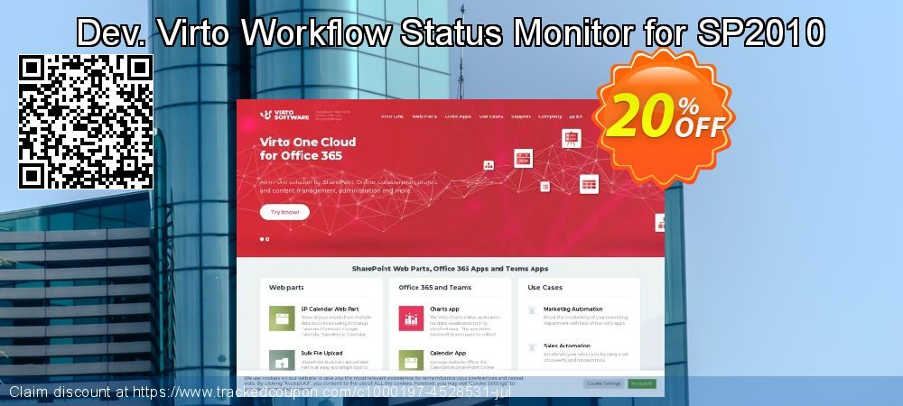 Dev. Virto Workflow Status Monitor for SP2010 coupon on Lunar New Year sales