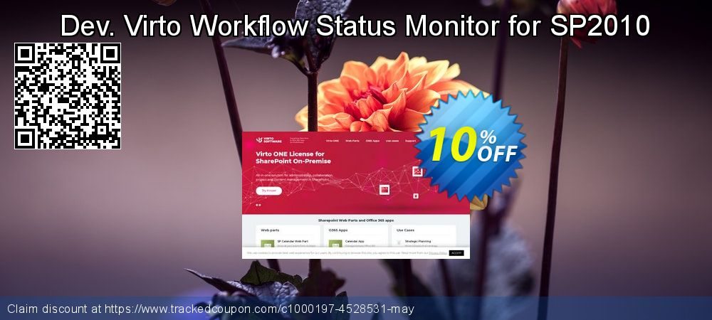 Dev. Virto Workflow Status Monitor for SP2010 coupon on Halloween sales