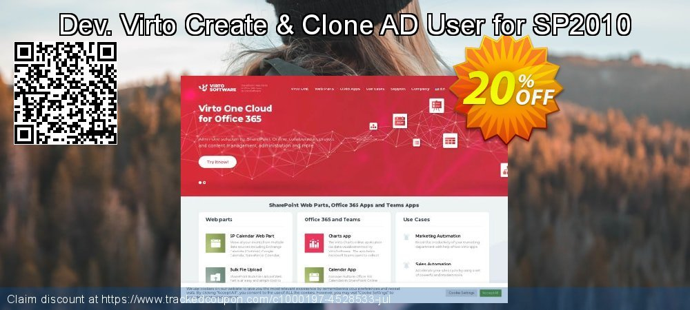 Dev. Virto Create & Clone AD User for SP2010 coupon on New Year's Day offer