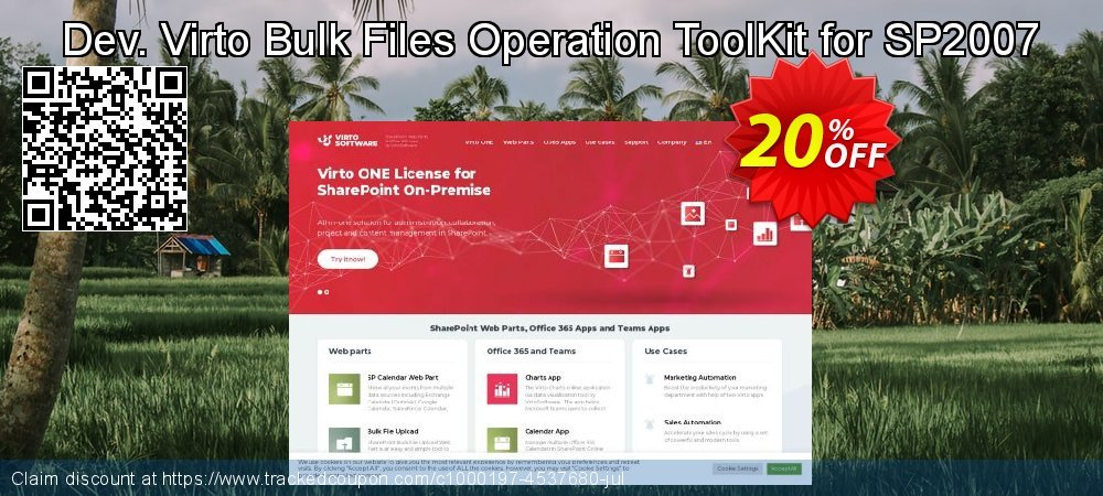 Dev. Virto Bulk Files Operation ToolKit for SP2007 coupon on New Year offering sales
